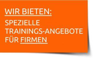 Trainings-Angebot für Firmen