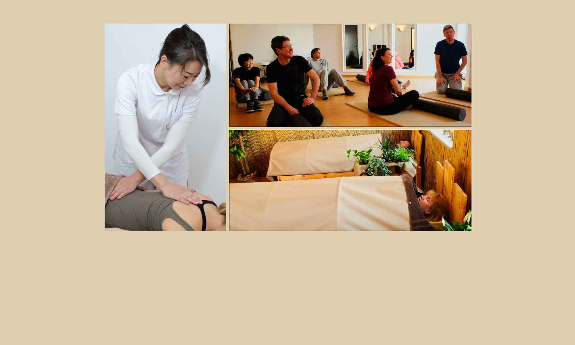 Shiatsu Massage, Core Conditioning Training, Ganbanyoku, Kopfmassage in München Bogenhausen